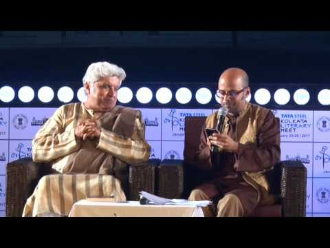 Javed Akhtar and Srijato at Kalam 2017
