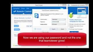 How to take over your subs computer with TeamViewer