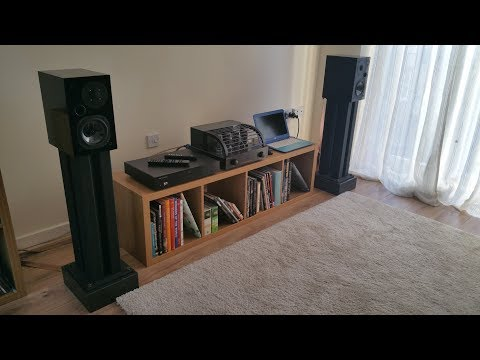 PrimaLuna + Usher S-520 + Cambridge Audio CXC + Musical Fidelity V90-DAC on Tascam DR-05