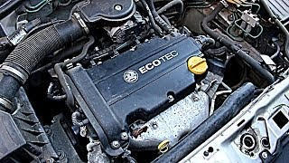 Vauxhall / Opel Corsa C 1.2L Petrol Startup and Idle Z12XE (HD)