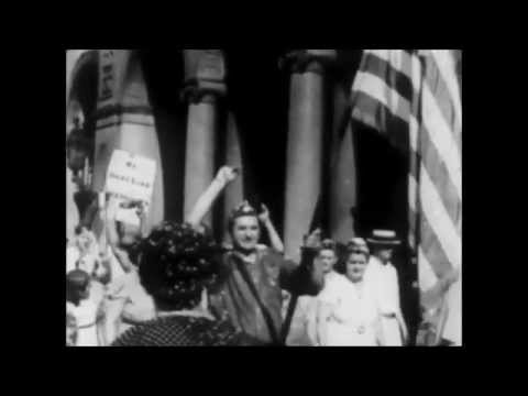 1930s Auto Workers Strike Home Movies: Detroit is a Union Town!