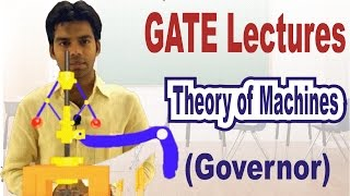 GATE Lectures:  Working of Governor