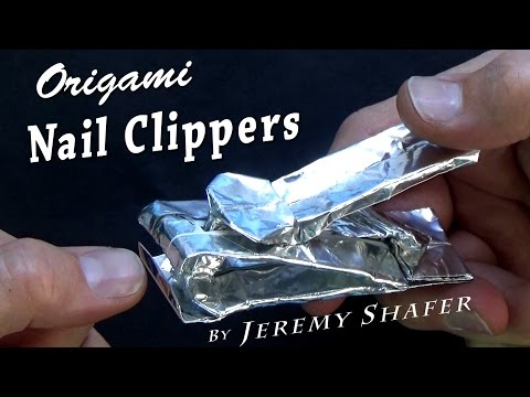 Origami Nail Clipper