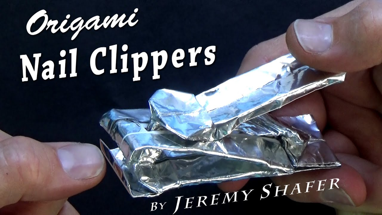 Origami Nail Clipper - YouTube