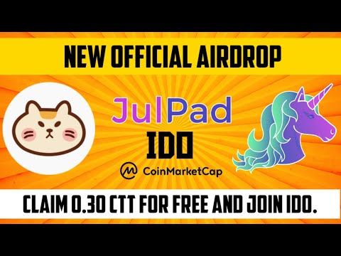 Claim Official Airdrop | 0.30 CTT CryptoTycoon Token | Fully Explained How to Join In IDO too💢