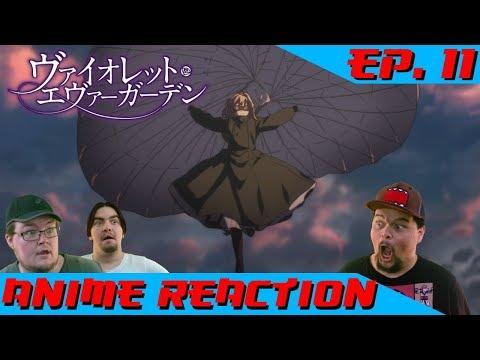 NEITHER RAIN, NOR SLEET, NOR... | Anime Reaction: Violet Evergarden Ep. 11