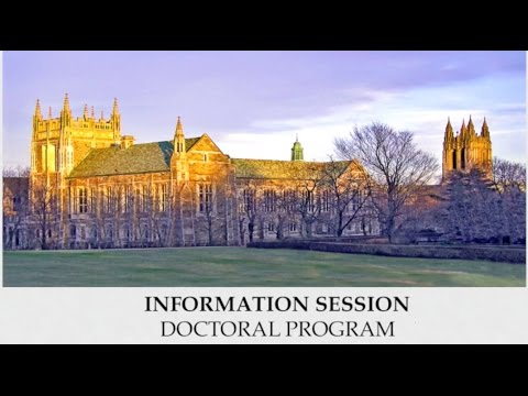 PhD Information Session Webinar - Boston College School Of Social Work - Video