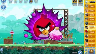 Angry Birds Friends, week 327/B, level 4