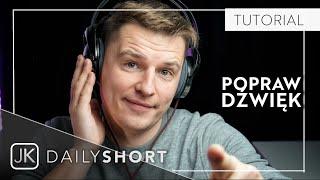 Efekty audio w Adobe Premiere Pro | Jakub Klawikowski DAILY SHORT