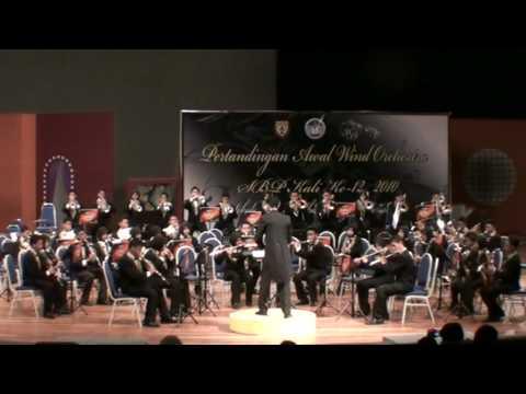 SMSS Wind Orchestra (Hakikat Sebuah Cinta) - Pertandingan Awal Wind Orchestra SBP 2010