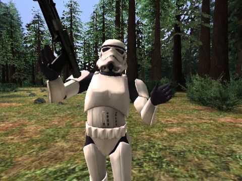 Trooper vs. Han IV - Star Wars Scene Maker