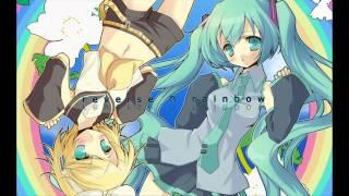 "VOCALOID2: Hatsune Miku & Kagamine Rin - ""Reverse Rainbow"" [HD & MP3]"