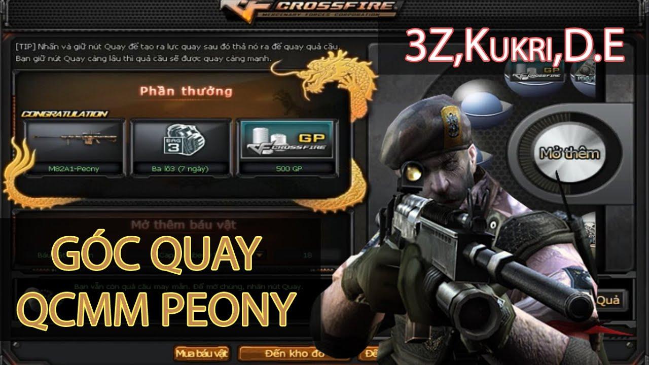 [CFVN] Góc quay 3z M82A1 Peony Kukri Peony DE Peony - YouTube