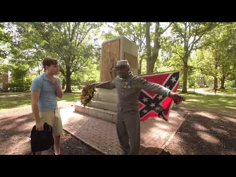 Supporter of Silent Sam not so silent at UNC