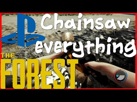 The forest PS4 | Climbing axe and Chainsaw | ep4