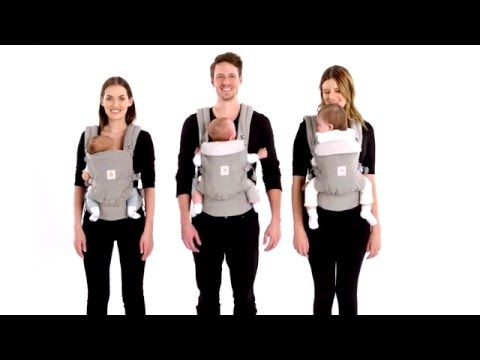 Ergobaby Adapt Carrier | How to fit the Adapt Carrier to your baby