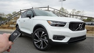 2019 Volvo XC 40 R-Design: Start Up, Walkaround, Test Drive and Review