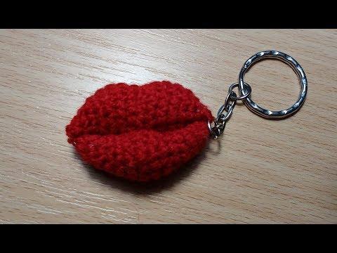 губы крючком или поцелуйчики видео урок вязание крючком лучшие