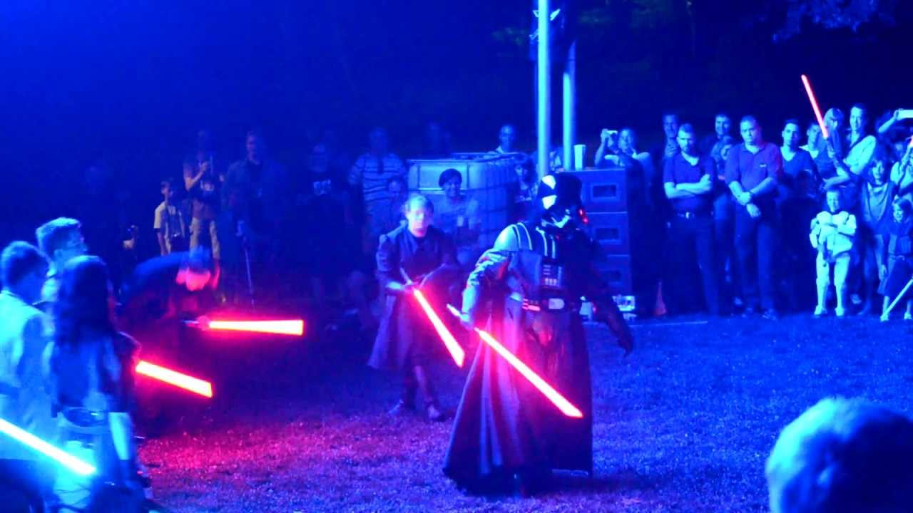 lightsaber fights star wars celebration europe 2 youtube