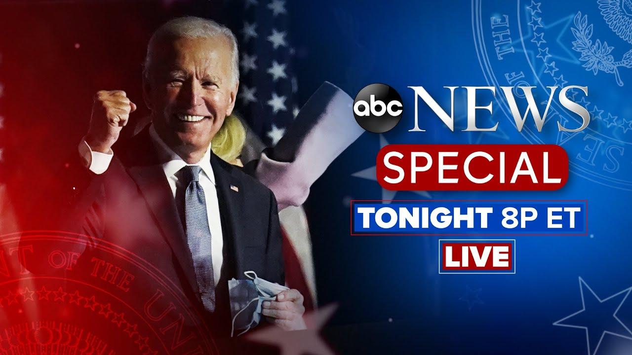 Watch Live: President-Elect Joe Biden Addresses The Nation I ABC News