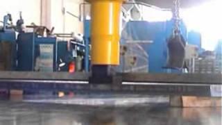 Sicmi Model PMM Gantry hydraulic press