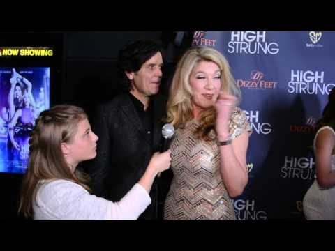 Michael and Janeen Damian Interview at High Strung Movie Exclusive Screening