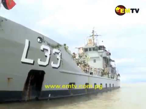 PNGDF Naval Ship Recommissioned as HMPNGS Lakekamu