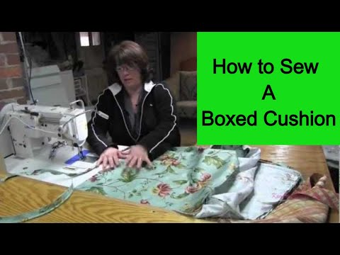 how to make cushion cover youtube. Black Bedroom Furniture Sets. Home Design Ideas
