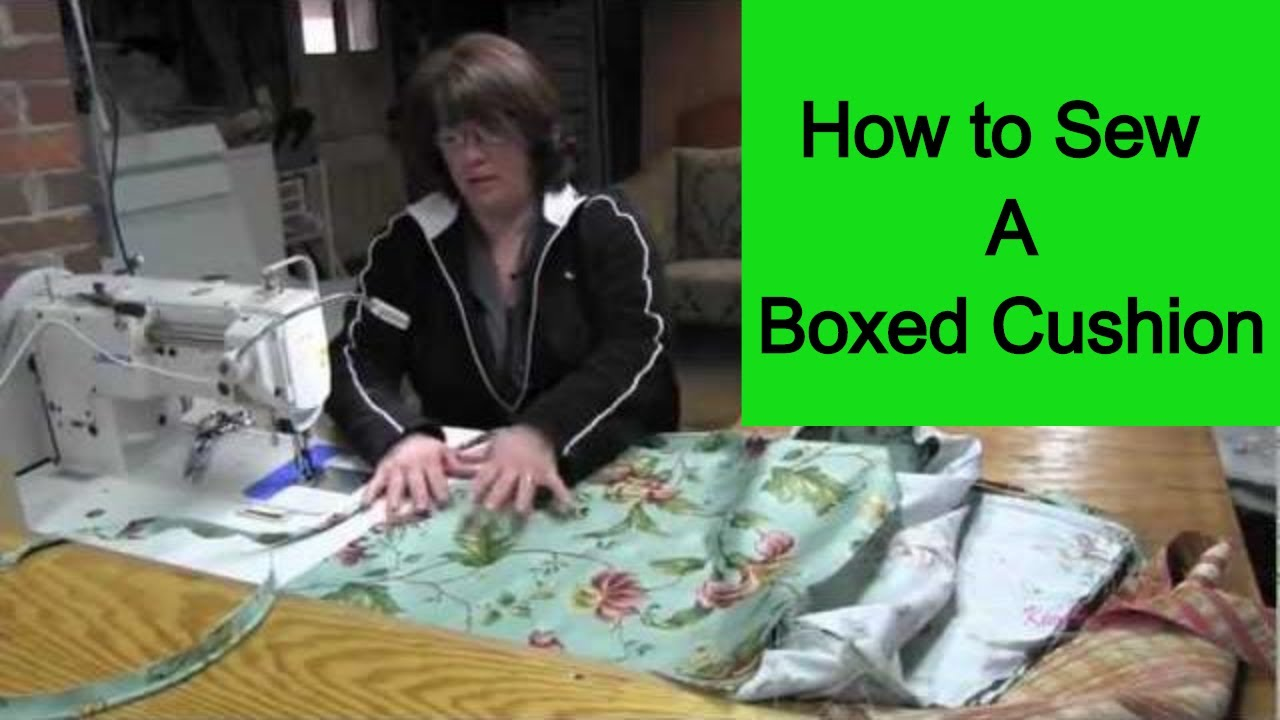 Quilted Lounge Chair Covers How To Sew A Boxed Cushion