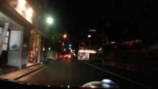 スマホで車載動画しています。