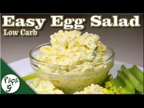 Low Carb Egg Salad Recipe - Keto