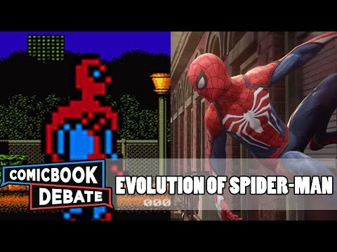History Of Spider Man Games Graphics 2001 2018 Pc