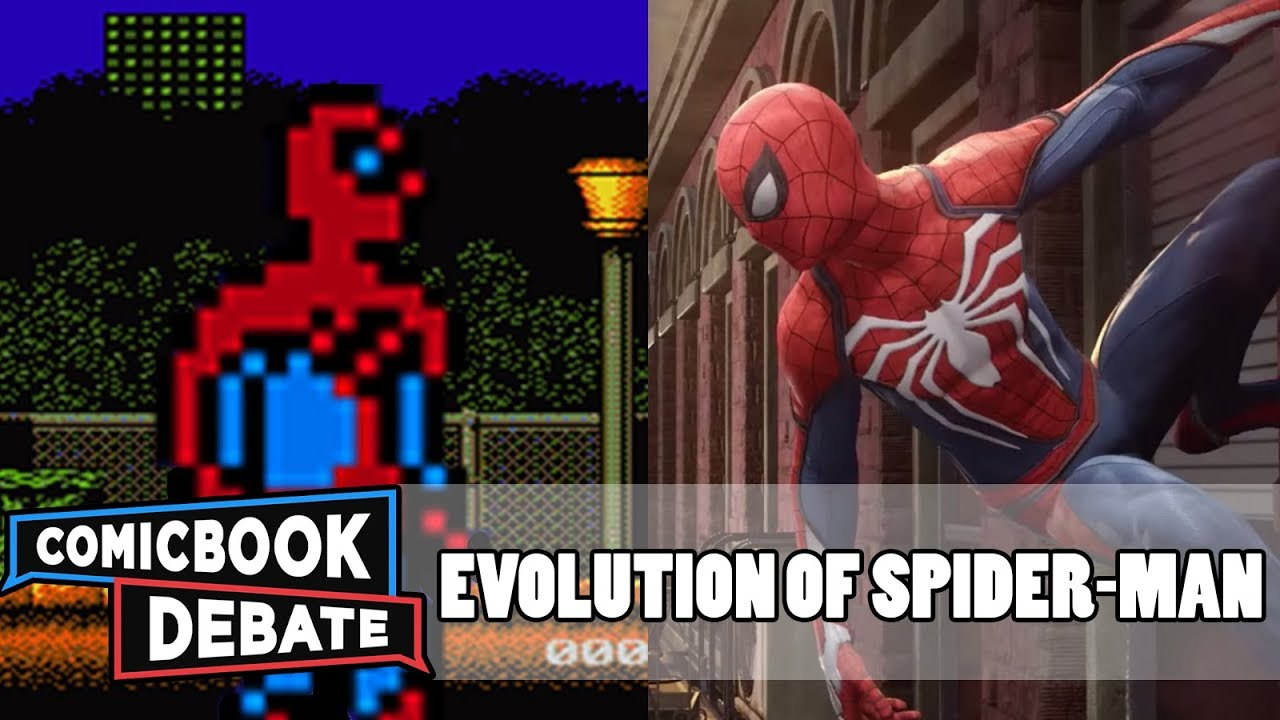 Evolution of Spider Man Games in 9 Minutes  2017    YouTube Evolution of Spider Man Games in 9 Minutes  2017