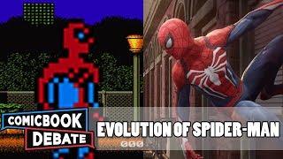 Evolution of Spider-Man Games in 9 Minutes (2017)