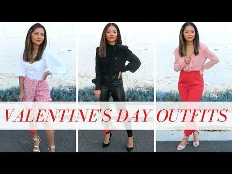 Valentine's Day / Date Night Outfits 2019 w/Christie Ferrari