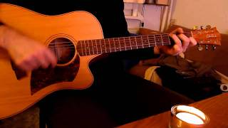 O Holy Night - acoustic guitar cover by onlyfavoritemusic