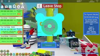 Roblox Buying the OP Supreme Saturator in Bee swarm simulator!