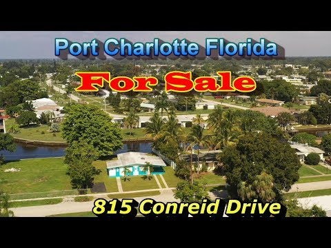 Port Charlotte Florida Real Estate Video -  Waterfront Home For Sale Charlotte County FL