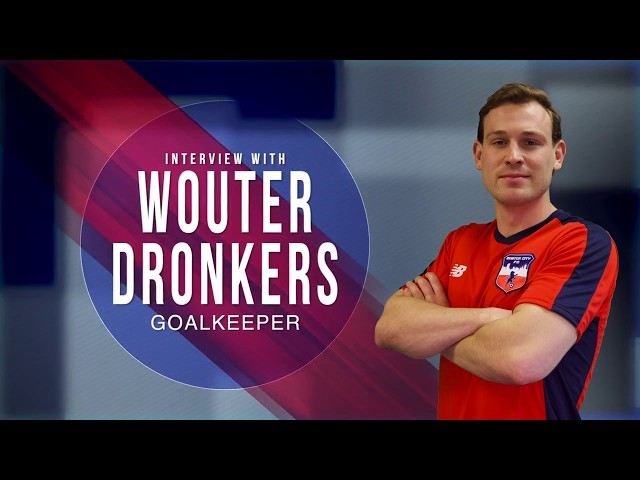 Interview with Wouter Dronkers Goalkeeper