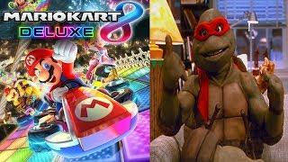 Mario Kart 8 Deluxe, Then Splatoon 2 Splatfest!