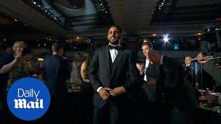 Riyad Mahrez winsPlayer of the Year 2016 award - Daily Mail