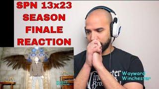 Supernatural 13x23 SEASON FINALE REACTION