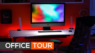 Tour de mi oficina, escritorio y herramientas de productividad en mi espacio de trabajo