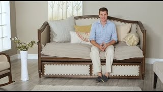Halstead Upholstered Daybed - Product Review Video