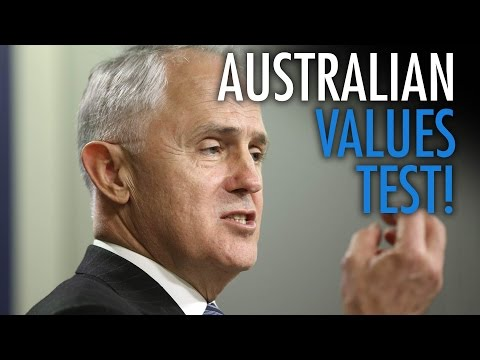 Australia brings in values test for immigrants