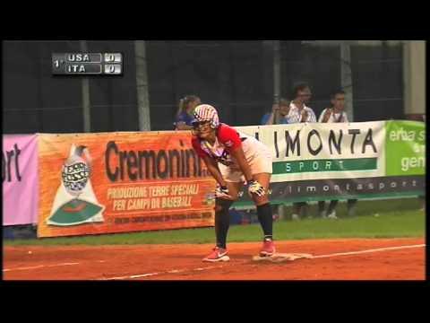 Italian Softball Week 2014, Italia-USA