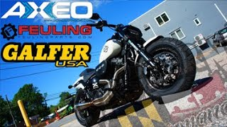 Legend Axeo Front Suspension Installation on Harley Touring