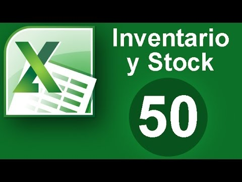 c29a877b3e Tutorial Excel (Cap. 50) Inventario y Stock - YouTube