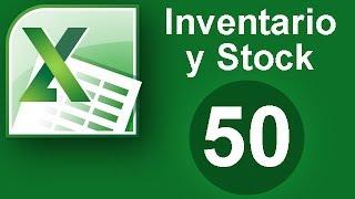Tutorial Excel (Cap. 50) Inventario y Stock