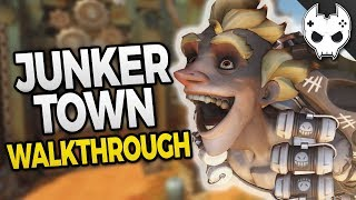 Overwatch - NEW MAP - JUNKERTOWN WALKTHROUGH